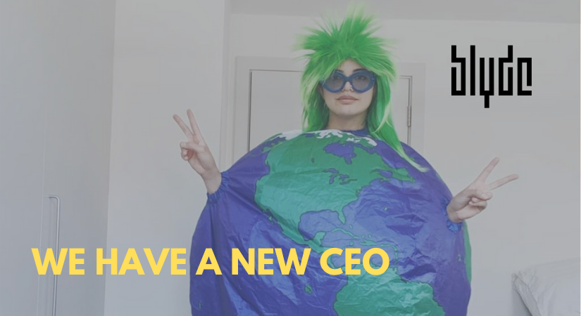 WE HAVE A NEW CEO | NIEUWSBRIEF BLYDE